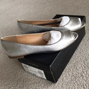 Talbots Peep Toe Flats